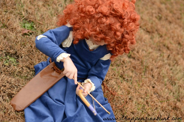Merida Costume from a Simplicity Pattern