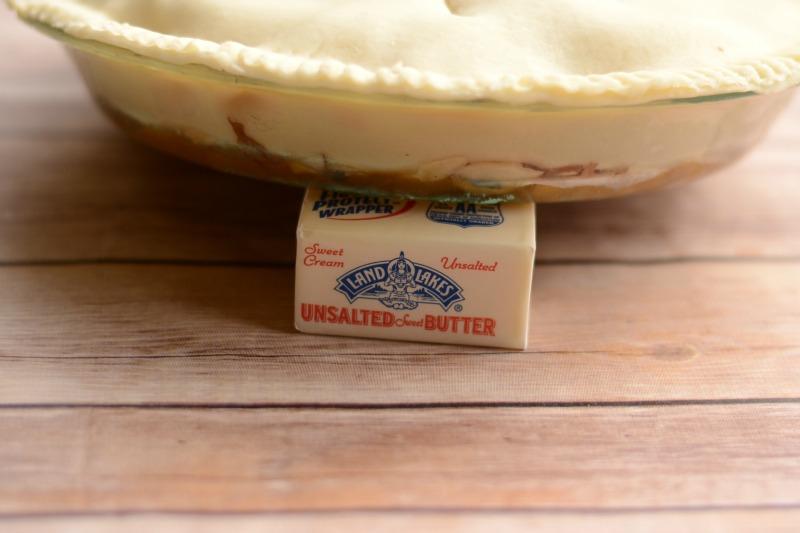 Upside Down Butterscotch Apple Pie #HolidayButter #cbias #shop