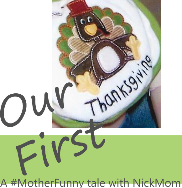 Our First Thanksgiving #MotherFunny #shop #cbias