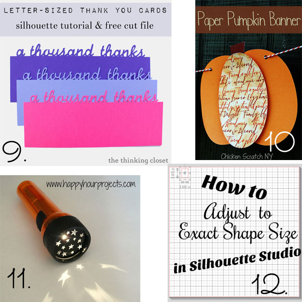15 Silhouette Tips and Tutorials for Beginners from It Happens in a Blink