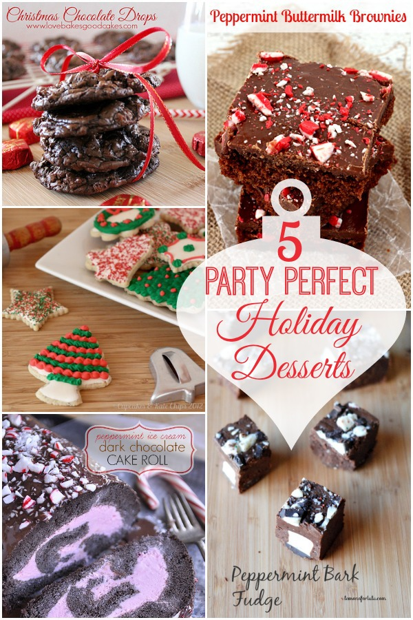 Five Party Perfect Desserts