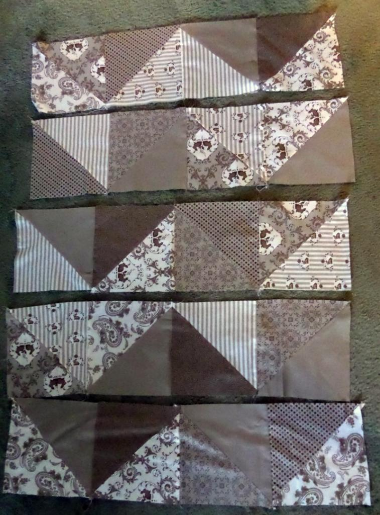 Silhouette Quilt from It Happens in a Blink