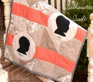 Child Silhouette Quilt
