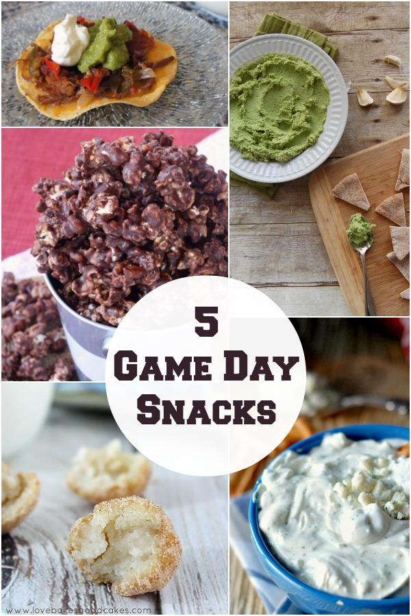 Five Fabulous Game Day Snacks