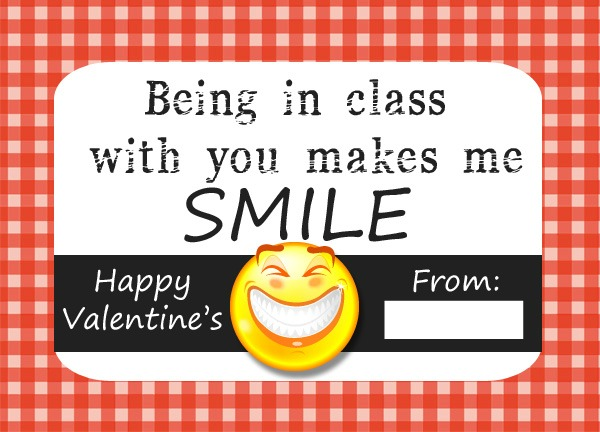 Funny Teeth Valentine Printable 2