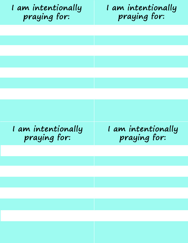 Prayer Cards from It Happens in a Blink