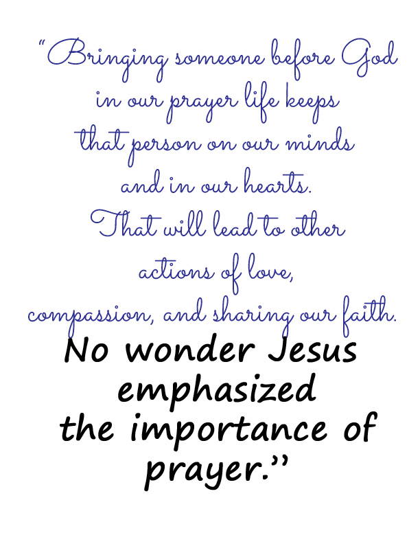 Prayer Quote from It Happens in a Blink