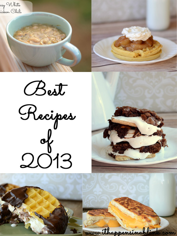 Best Recipes of 2013 from It Happens in a Blink
