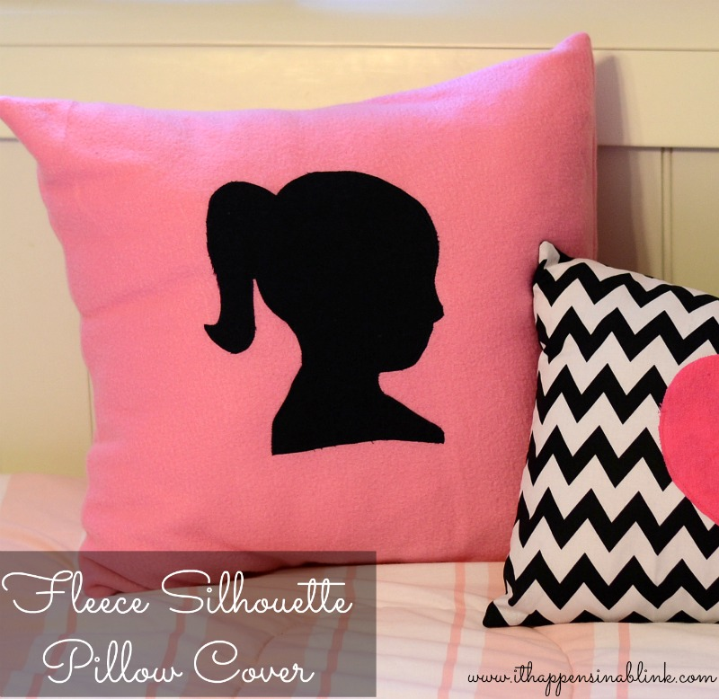 Make an easy envelope style pillow cover
