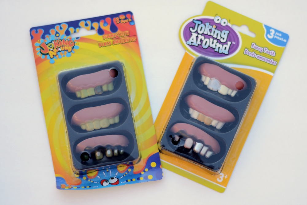 Funny Teeth from Dollar Store