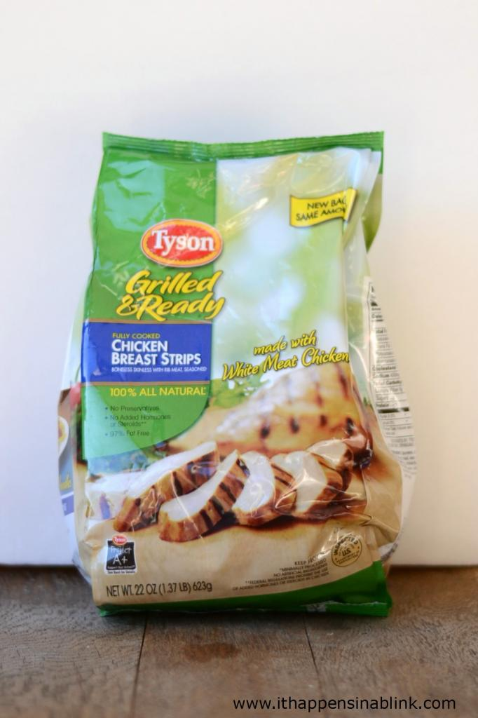#ad Tyson Grilled & Ready Chicken Strips #JustAddTyson #cbias