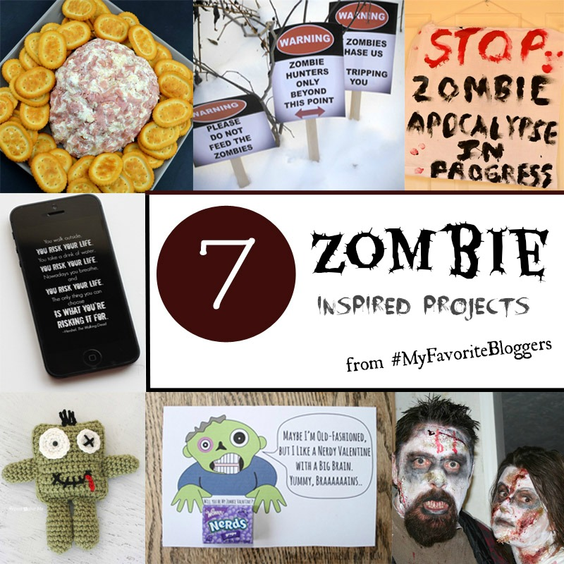 7 Zombie Inspired Projects from It Happens in a Blink