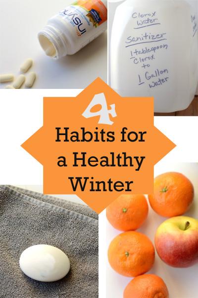 4 Habits for a Healthy Winter #NaturalProbiotic #shop #ad