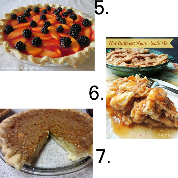 13 Fruit Filled Pies from It Happens in a Blink