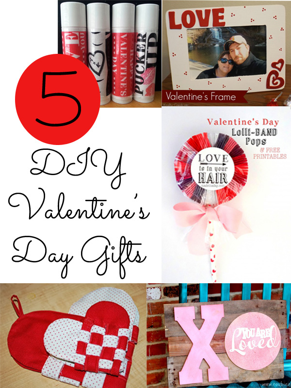 5 DIY Valentine's Day Gifts from It Happens in a Blink