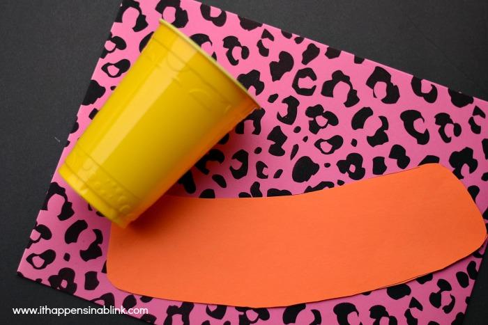 Easy Foam Cup Cozies for a #JungleFresh Movie Night #shop #cbias
