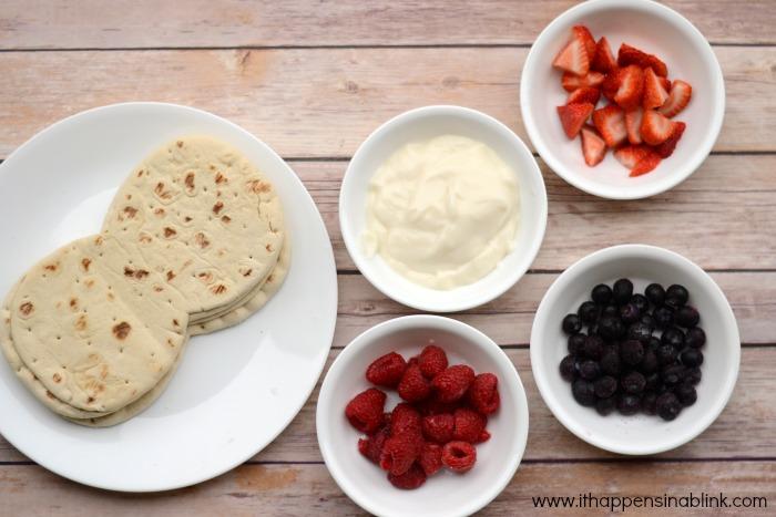 Fruit and Yogurt Pita Ingredients for a #JungleFresh Movie Night #shop #cbias