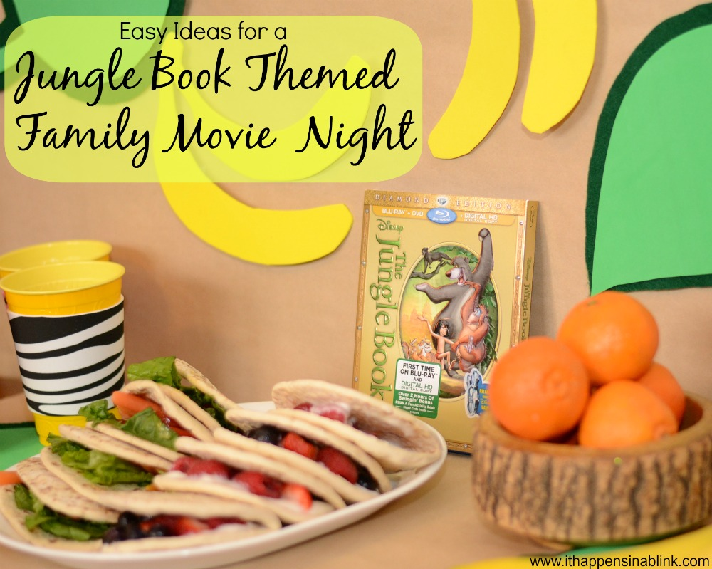 Jungle Book Themed Movie Night #JungleFresh #shop #cbias