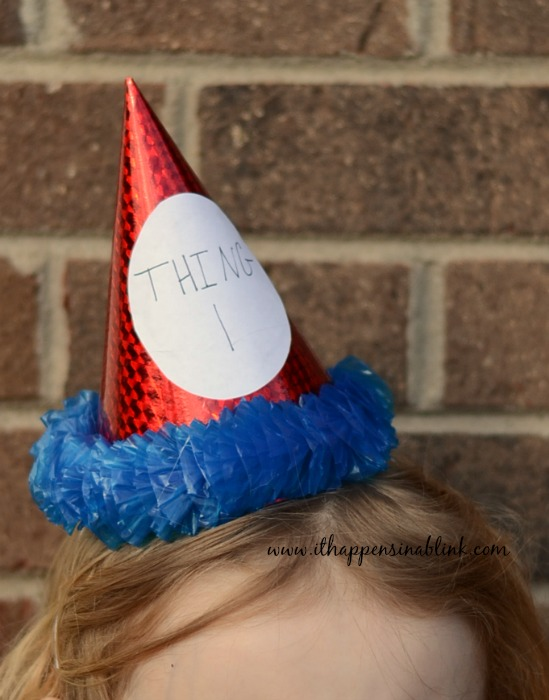 15 Minute Dr. Seuss Party Hats from It Happens in a Blink