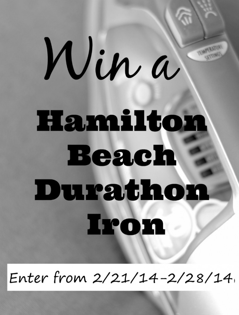 Enter to win a #durathon iron