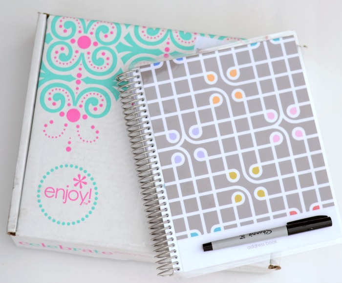 Erin Condren Address Book from It Happens in a Blink