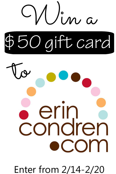 Erin Condren Gift Card Giveaway from It Happens in a Blink
