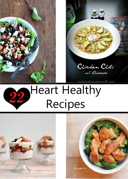 22 Heart Healthy Recipes from It Happens in a Blink
