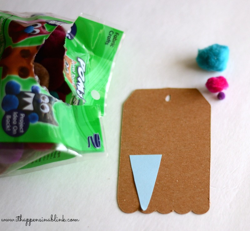 Easy DIY Ice Cream Gift Tag from It Happens in a Blink