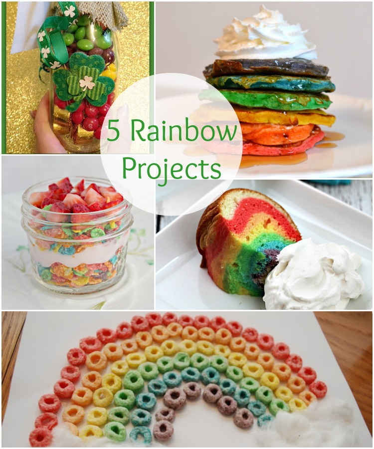 5 Rainbow Projects from It Happens in a Blink