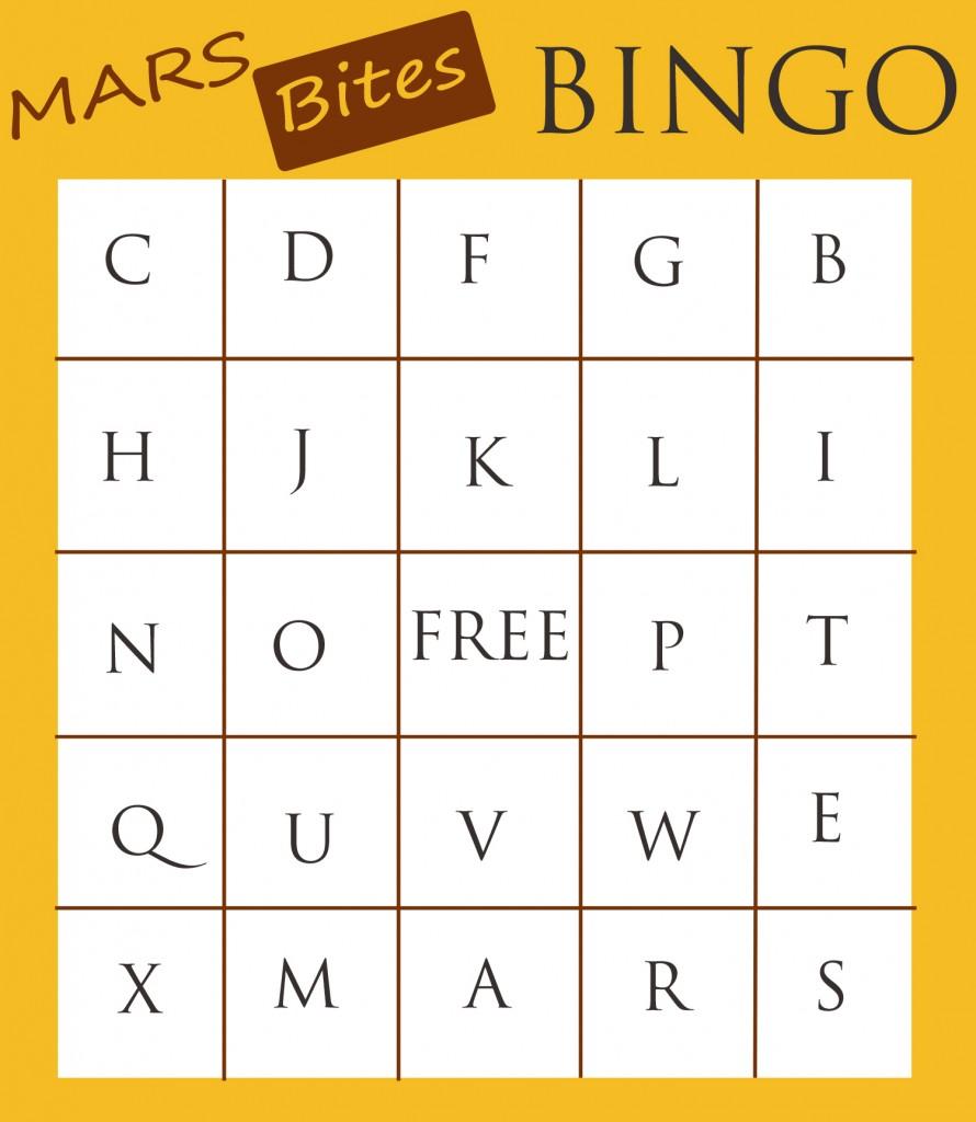 MARS Bites Bingo #EatMoreBites #shop #cbias