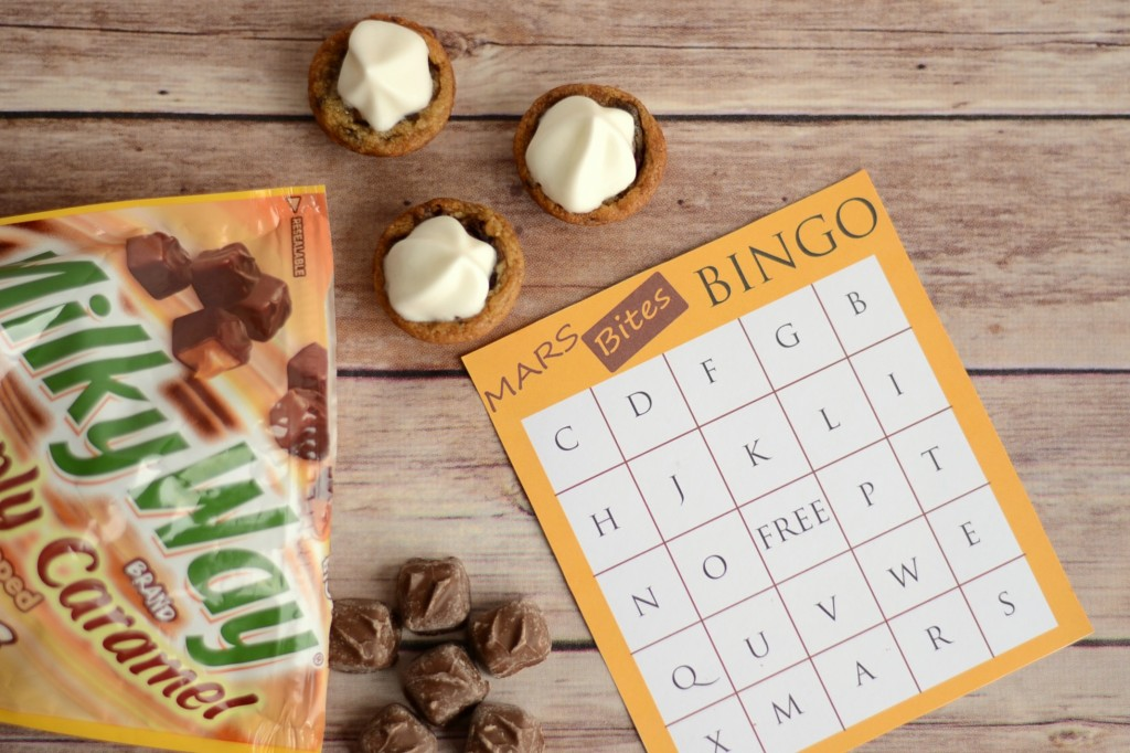 2 Ingredient Caramel Cookie Cups and Bingo Game #EatMoreBites #shop