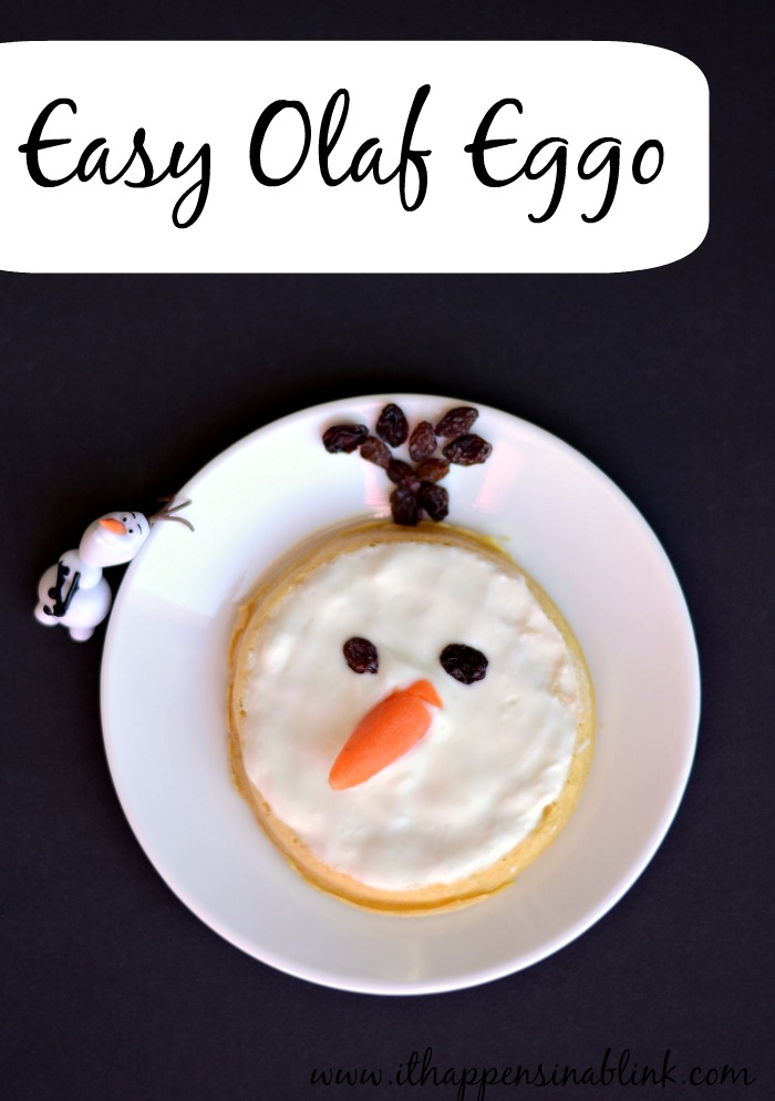 Easy Olaf Eggo #cbias #FROZENfun #shop