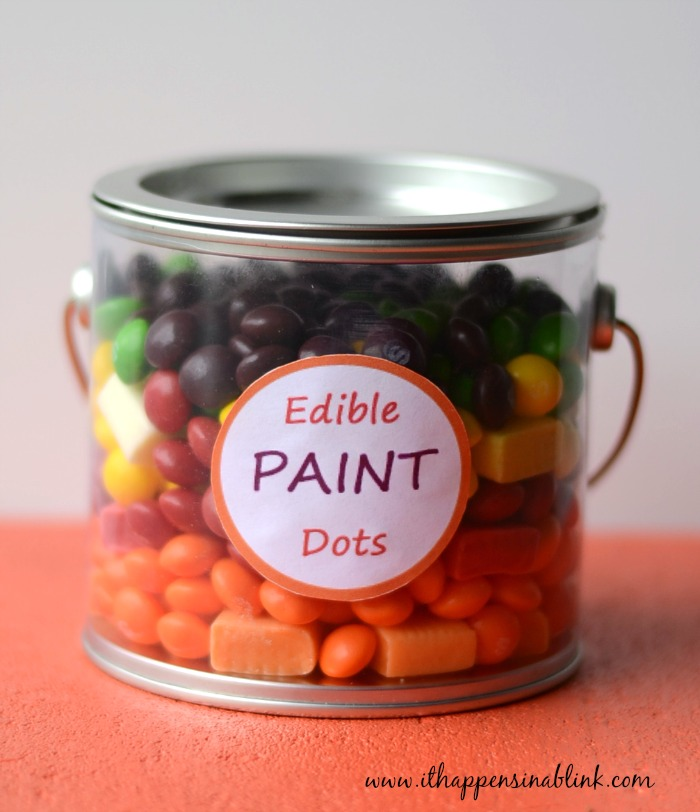 Edible Paint Dots with Label #VIPFruitFlavors #shop #cbias