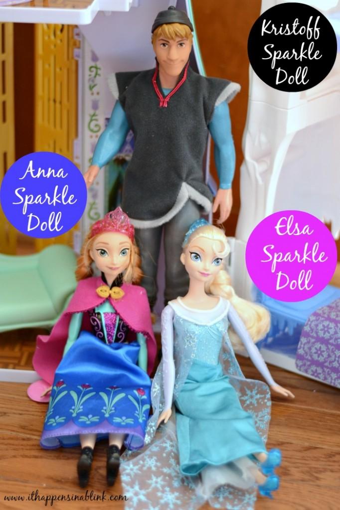 #FROZENfun Sparkle Dolls #cbias #shop