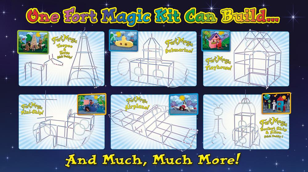 Fort Magic Fort Building Kit Giveaway
