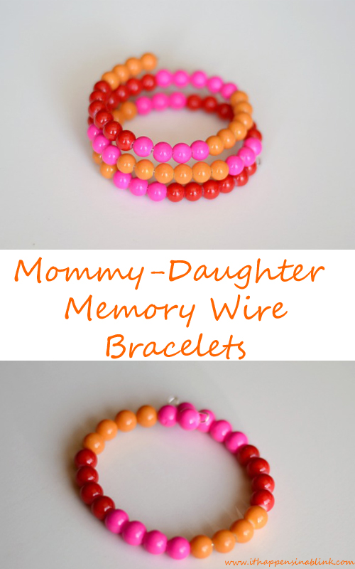 Memory Wire Mommy Daughter Bracelets