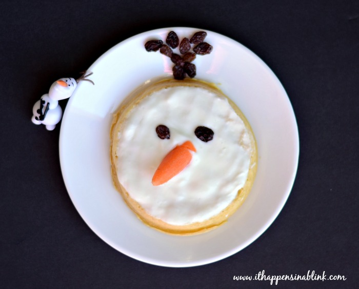 Easy Olaf Eggo #FROZENfun #shop #cbias