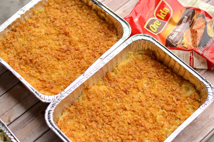 Ore-Ida Cheesy Potato Csserole #OreIdaHashbrown #shop #cbias