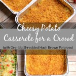 Cheesy Potato Casserole with Ore-Ida Shredded Hash Brown Potatoes #shop