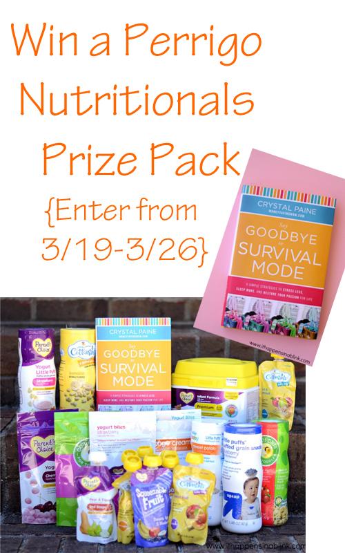 Perrigo Nutritionals Giveaway