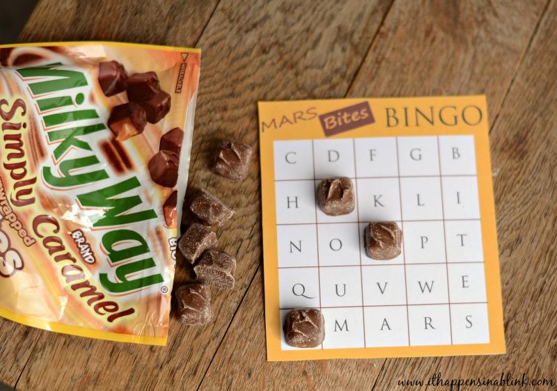 MARS Bites bingo #EatMoreBites #shop