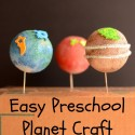Easy Preschool Planet Craft