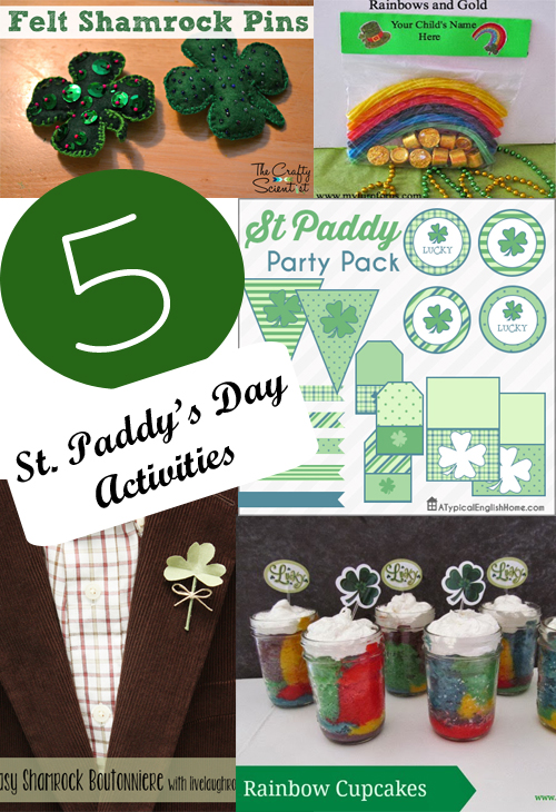 5 St. Paddy's Day Activities