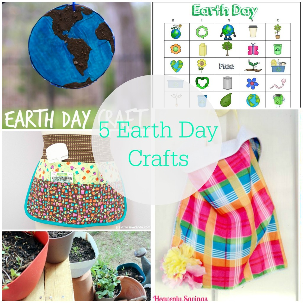 5 Earth Day Crafts