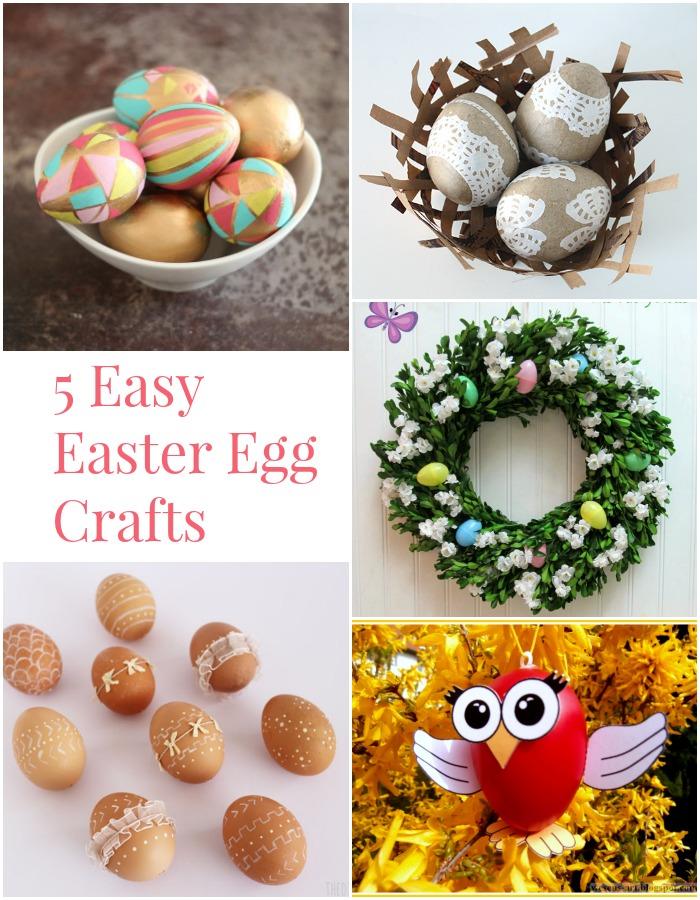 5 Easy Easter Egg Crafts