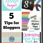 5 Blogger Tips and The Project Stash Link Party