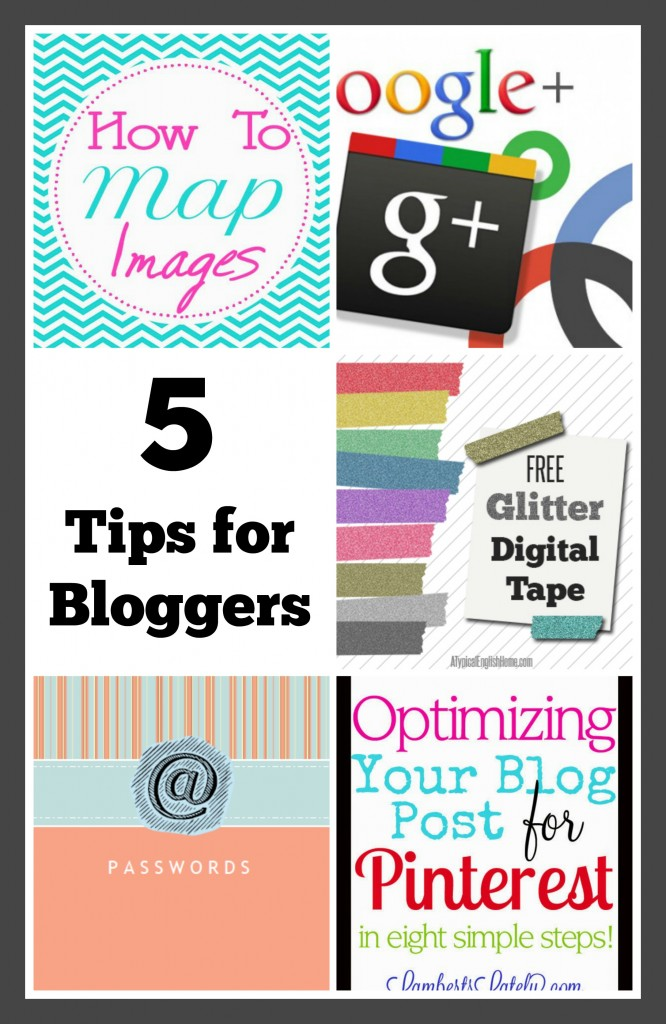 5 Tips for Bloggers