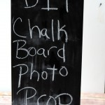 Chalkboard Photo Prop from It Happens in a Blink