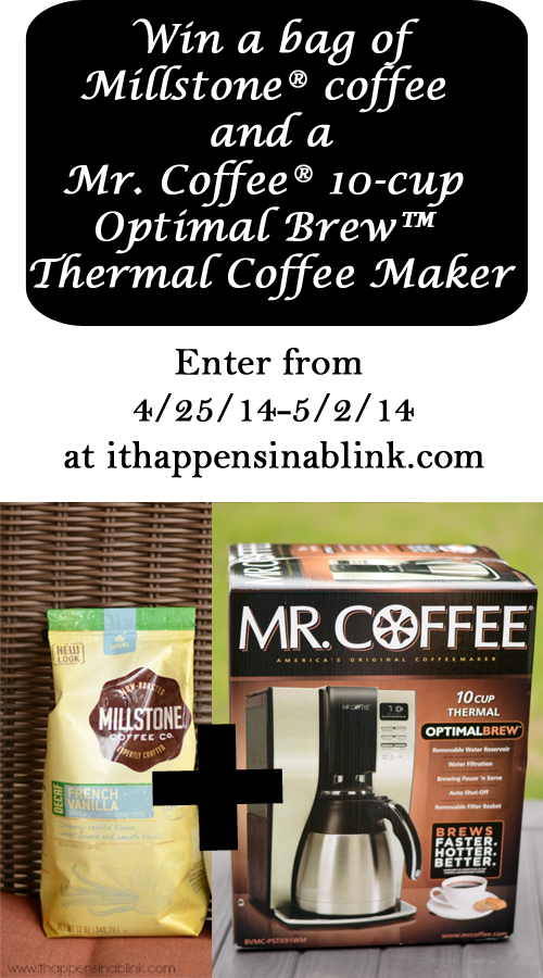 Mr. Coffee® 10-cup Optimal Brew™ Thermal Coffee Maker Giveaway #CoffeeJourneys #shop #cbias