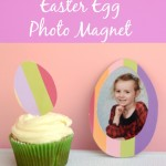 Easter Egg Photo Magnet
